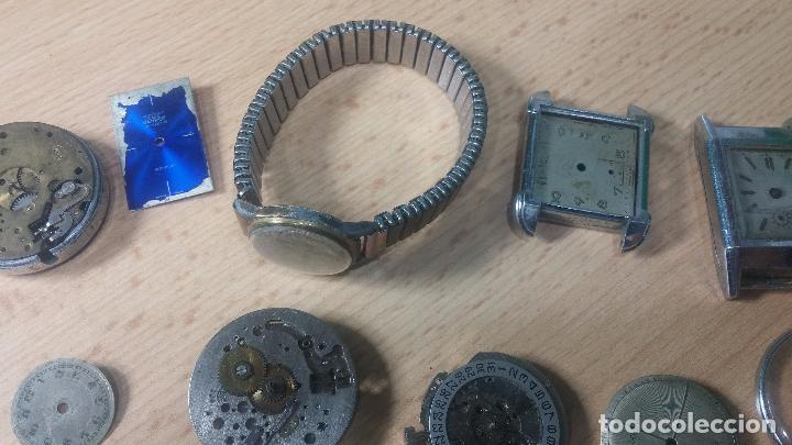 Relojes de pulsera: Gran colección de maquinas de reloj o relojes antiguos muy botitos, para reparar o para piezas... - Foto 37 - 103250643