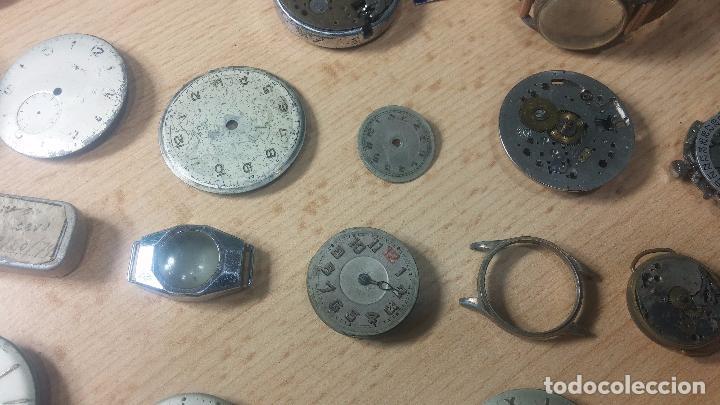 Relojes de pulsera: Gran colección de maquinas de reloj o relojes antiguos muy botitos, para reparar o para piezas... - Foto 39 - 103250643