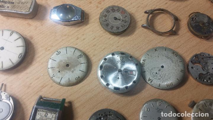 Relojes de pulsera: Gran colección de maquinas de reloj o relojes antiguos muy botitos, para reparar o para piezas... - Foto 40 - 103250643