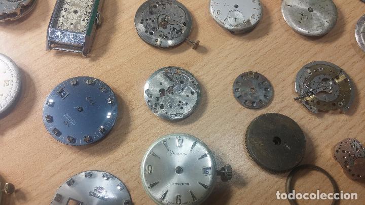 Relojes de pulsera: Gran colección de maquinas de reloj o relojes antiguos muy botitos, para reparar o para piezas... - Foto 42 - 103250643