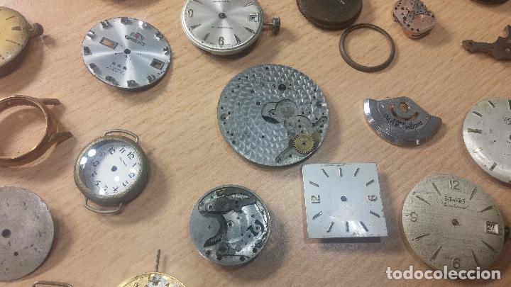 Relojes de pulsera: Gran colección de maquinas de reloj o relojes antiguos muy botitos, para reparar o para piezas... - Foto 44 - 103250643
