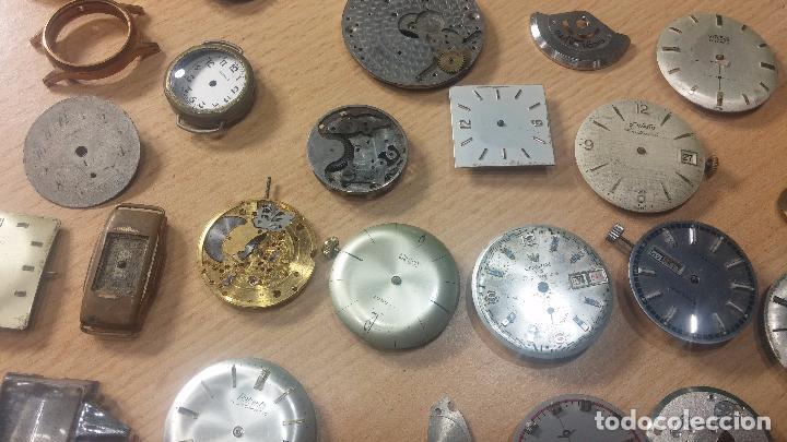 Relojes de pulsera: Gran colección de maquinas de reloj o relojes antiguos muy botitos, para reparar o para piezas... - Foto 45 - 103250643