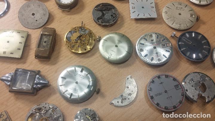 Relojes de pulsera: Gran colección de maquinas de reloj o relojes antiguos muy botitos, para reparar o para piezas... - Foto 46 - 103250643