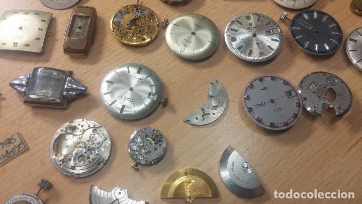 Relojes de pulsera: Gran colección de maquinas de reloj o relojes antiguos muy botitos, para reparar o para piezas... - Foto 47 - 103250643