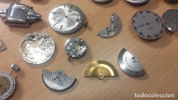 Relojes de pulsera: Gran colección de maquinas de reloj o relojes antiguos muy botitos, para reparar o para piezas... - Foto 48 - 103250643