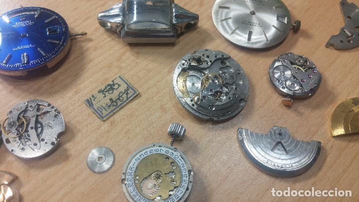 Relojes de pulsera: Gran colección de maquinas de reloj o relojes antiguos muy botitos, para reparar o para piezas... - Foto 49 - 103250643