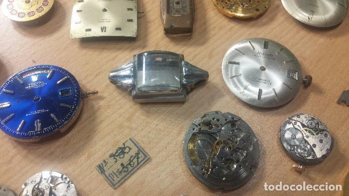Relojes de pulsera: Gran colección de maquinas de reloj o relojes antiguos muy botitos, para reparar o para piezas... - Foto 50 - 103250643