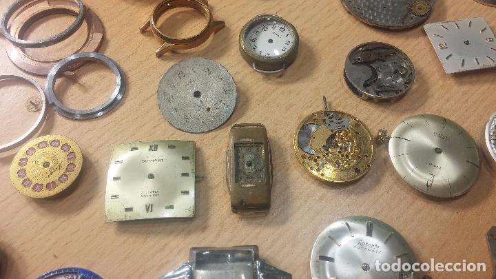 Relojes de pulsera: Gran colección de maquinas de reloj o relojes antiguos muy botitos, para reparar o para piezas... - Foto 51 - 103250643