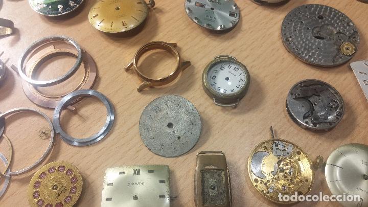 Relojes de pulsera: Gran colección de maquinas de reloj o relojes antiguos muy botitos, para reparar o para piezas... - Foto 52 - 103250643