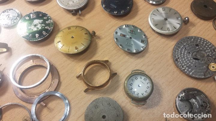 Relojes de pulsera: Gran colección de maquinas de reloj o relojes antiguos muy botitos, para reparar o para piezas... - Foto 53 - 103250643