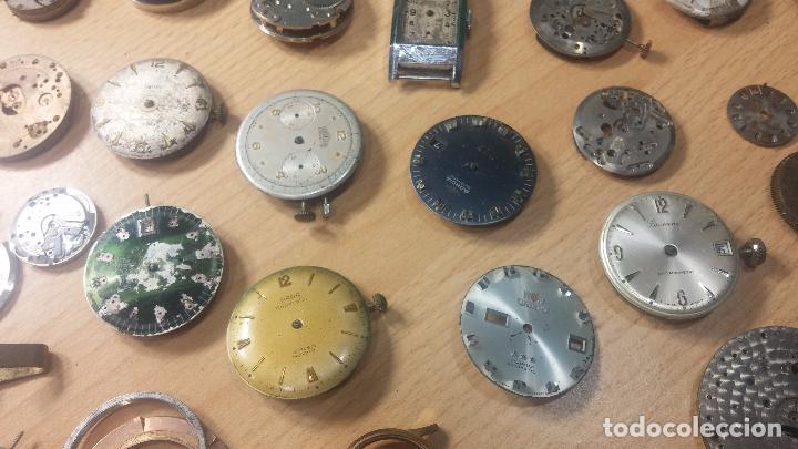 Relojes de pulsera: Gran colección de maquinas de reloj o relojes antiguos muy botitos, para reparar o para piezas... - Foto 54 - 103250643