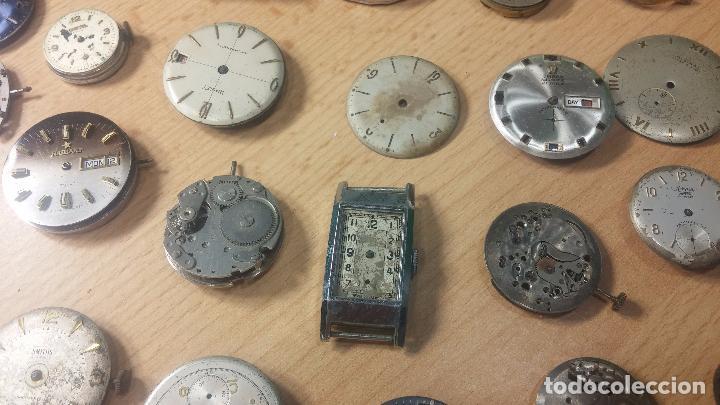Relojes de pulsera: Gran colección de maquinas de reloj o relojes antiguos muy botitos, para reparar o para piezas... - Foto 56 - 103250643