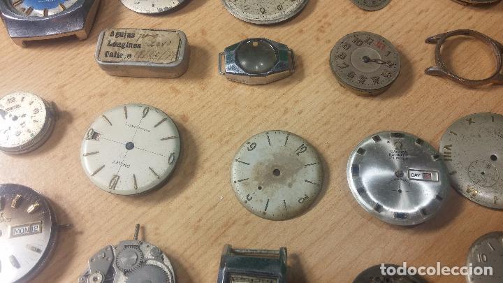 Relojes de pulsera: Gran colección de maquinas de reloj o relojes antiguos muy botitos, para reparar o para piezas... - Foto 57 - 103250643