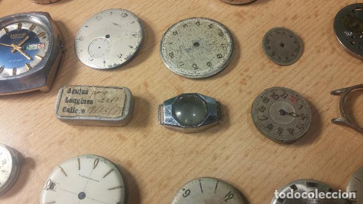 Relojes de pulsera: Gran colección de maquinas de reloj o relojes antiguos muy botitos, para reparar o para piezas... - Foto 58 - 103250643