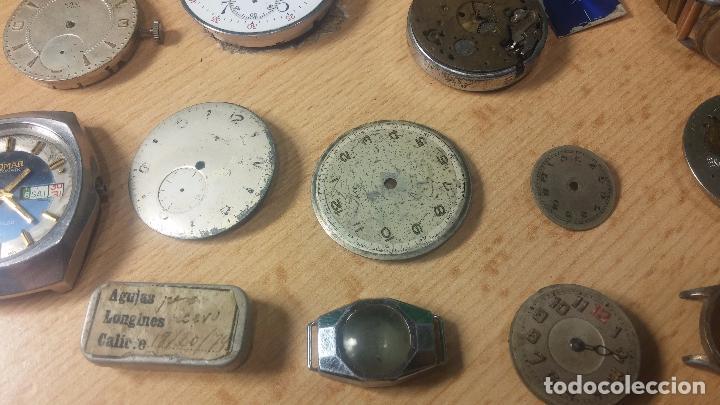 Relojes de pulsera: Gran colección de maquinas de reloj o relojes antiguos muy botitos, para reparar o para piezas... - Foto 59 - 103250643