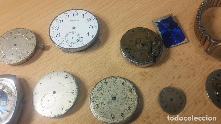 Relojes de pulsera: Gran colección de maquinas de reloj o relojes antiguos muy botitos, para reparar o para piezas... - Foto 60 - 103250643