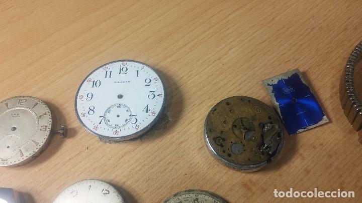 Relojes de pulsera: Gran colección de maquinas de reloj o relojes antiguos muy botitos, para reparar o para piezas... - Foto 61 - 103250643