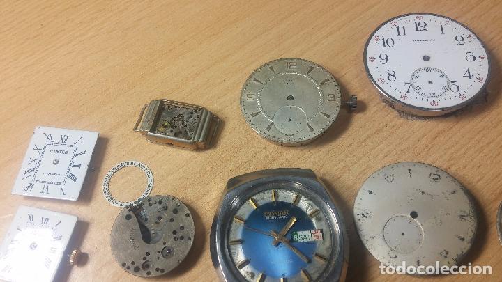 Relojes de pulsera: Gran colección de maquinas de reloj o relojes antiguos muy botitos, para reparar o para piezas... - Foto 62 - 103250643