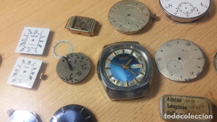 Relojes de pulsera: Gran colección de maquinas de reloj o relojes antiguos muy botitos, para reparar o para piezas... - Foto 63 - 103250643