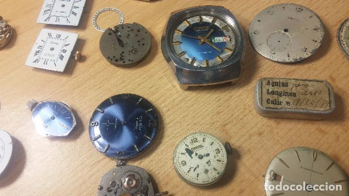 Relojes de pulsera: Gran colección de maquinas de reloj o relojes antiguos muy botitos, para reparar o para piezas... - Foto 64 - 103250643