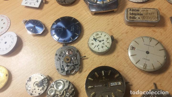 Relojes de pulsera: Gran colección de maquinas de reloj o relojes antiguos muy botitos, para reparar o para piezas... - Foto 65 - 103250643