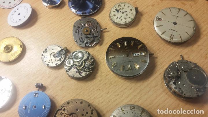 Relojes de pulsera: Gran colección de maquinas de reloj o relojes antiguos muy botitos, para reparar o para piezas... - Foto 66 - 103250643