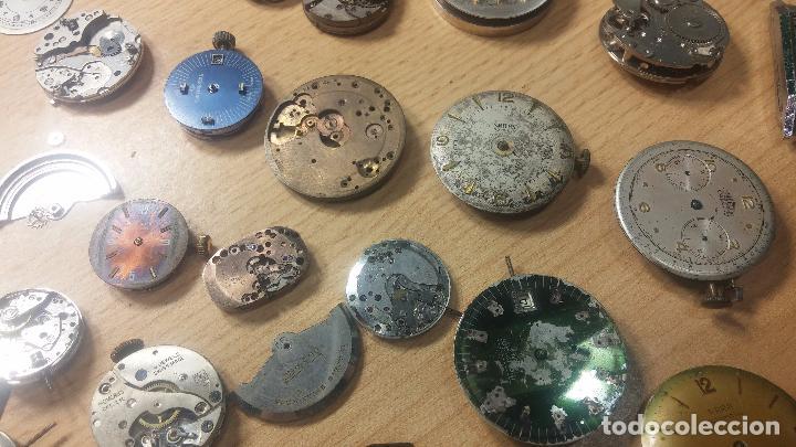 Relojes de pulsera: Gran colección de maquinas de reloj o relojes antiguos muy botitos, para reparar o para piezas... - Foto 68 - 103250643