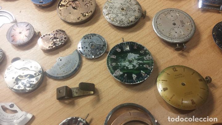 Relojes de pulsera: Gran colección de maquinas de reloj o relojes antiguos muy botitos, para reparar o para piezas... - Foto 69 - 103250643