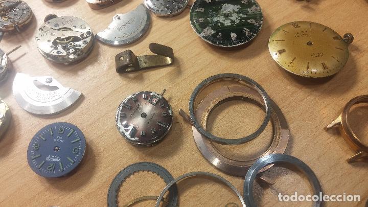Relojes de pulsera: Gran colección de maquinas de reloj o relojes antiguos muy botitos, para reparar o para piezas... - Foto 70 - 103250643