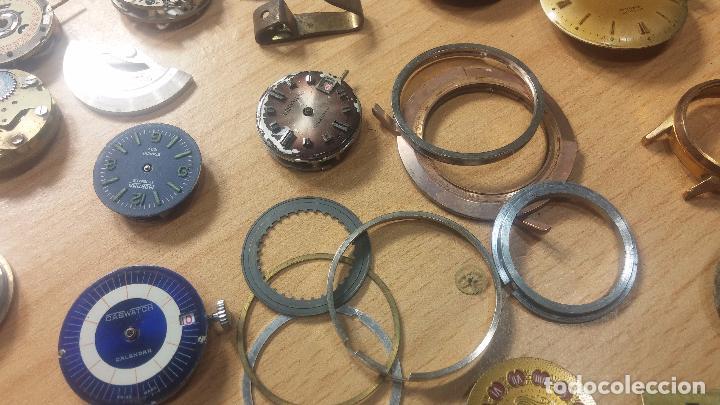 Relojes de pulsera: Gran colección de maquinas de reloj o relojes antiguos muy botitos, para reparar o para piezas... - Foto 71 - 103250643