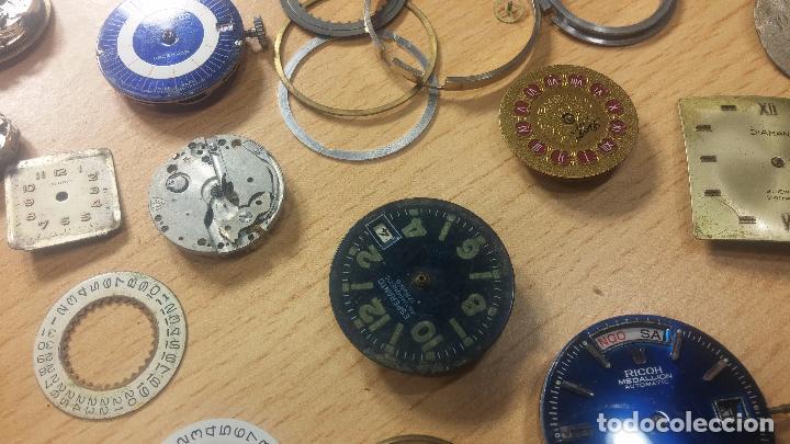 Relojes de pulsera: Gran colección de maquinas de reloj o relojes antiguos muy botitos, para reparar o para piezas... - Foto 72 - 103250643