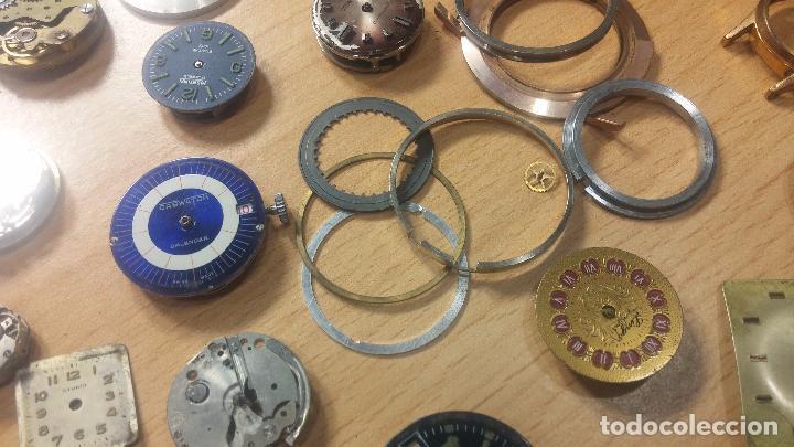 Relojes de pulsera: Gran colección de maquinas de reloj o relojes antiguos muy botitos, para reparar o para piezas... - Foto 73 - 103250643