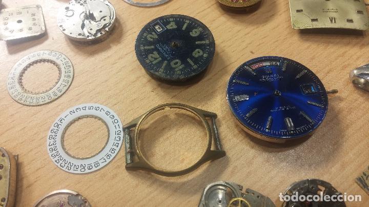 Relojes de pulsera: Gran colección de maquinas de reloj o relojes antiguos muy botitos, para reparar o para piezas... - Foto 74 - 103250643