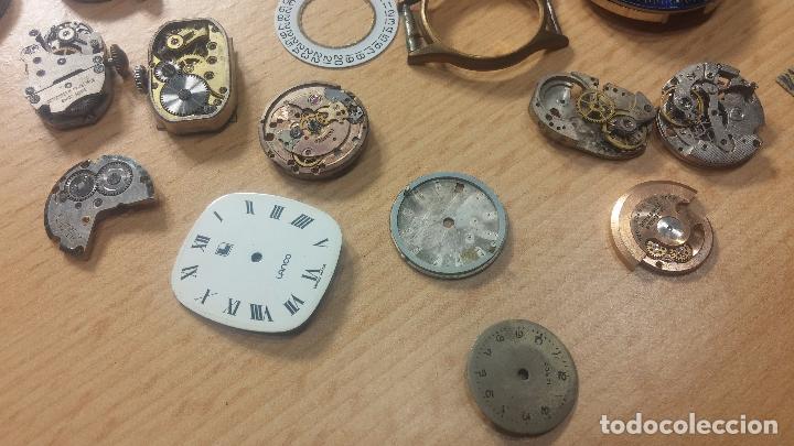 Relojes de pulsera: Gran colección de maquinas de reloj o relojes antiguos muy botitos, para reparar o para piezas... - Foto 76 - 103250643