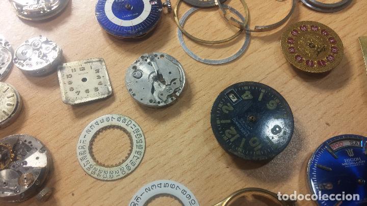 Relojes de pulsera: Gran colección de maquinas de reloj o relojes antiguos muy botitos, para reparar o para piezas... - Foto 78 - 103250643