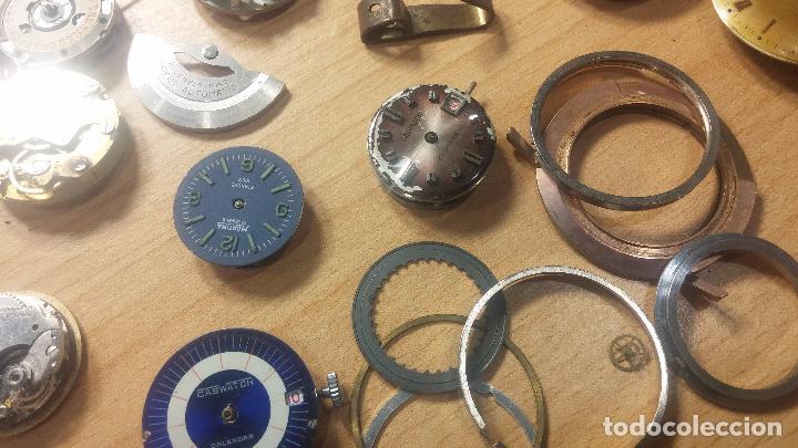 Relojes de pulsera: Gran colección de maquinas de reloj o relojes antiguos muy botitos, para reparar o para piezas... - Foto 80 - 103250643