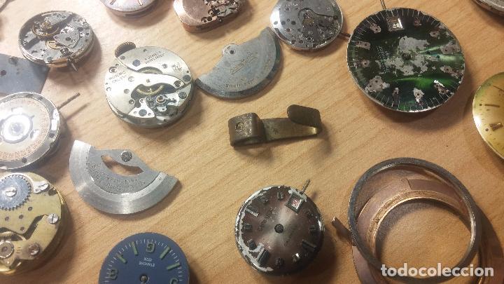 Relojes de pulsera: Gran colección de maquinas de reloj o relojes antiguos muy botitos, para reparar o para piezas... - Foto 81 - 103250643