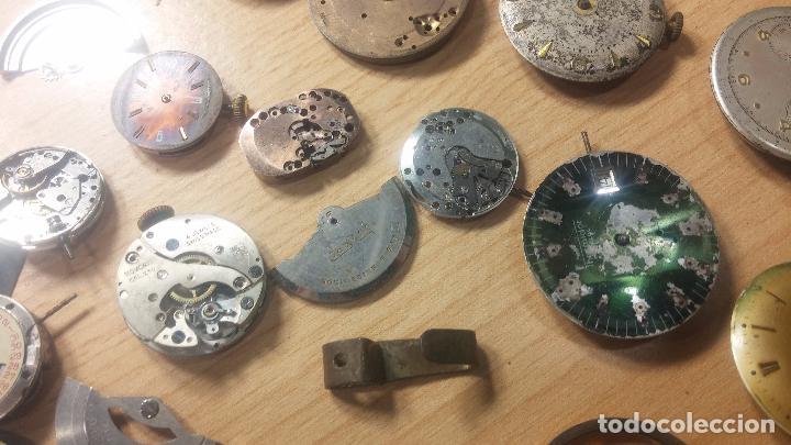 Relojes de pulsera: Gran colección de maquinas de reloj o relojes antiguos muy botitos, para reparar o para piezas... - Foto 82 - 103250643