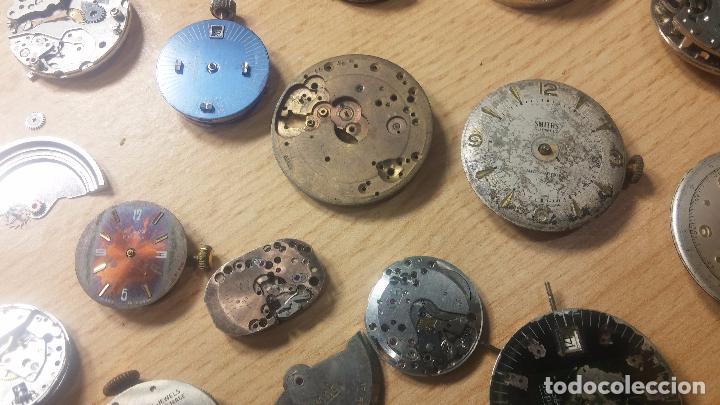 Relojes de pulsera: Gran colección de maquinas de reloj o relojes antiguos muy botitos, para reparar o para piezas... - Foto 83 - 103250643