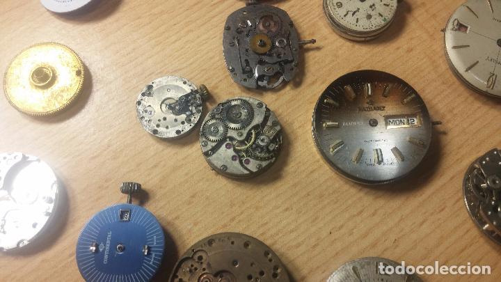 Relojes de pulsera: Gran colección de maquinas de reloj o relojes antiguos muy botitos, para reparar o para piezas... - Foto 85 - 103250643