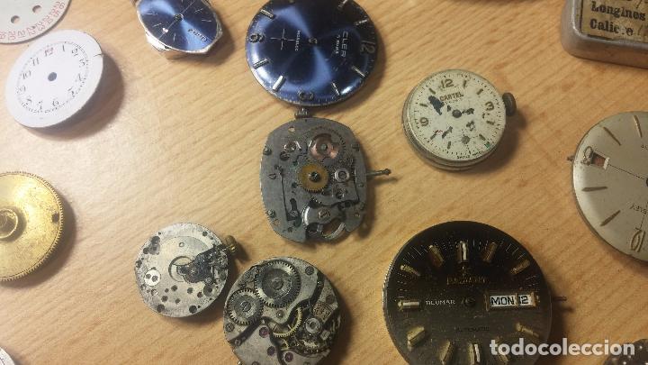 Relojes de pulsera: Gran colección de maquinas de reloj o relojes antiguos muy botitos, para reparar o para piezas... - Foto 86 - 103250643