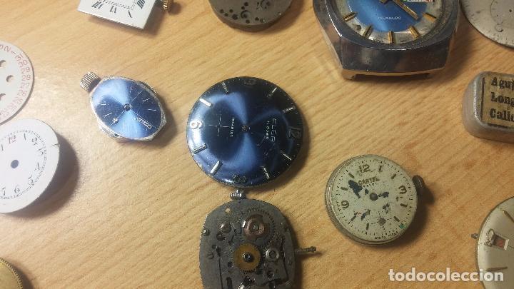 Relojes de pulsera: Gran colección de maquinas de reloj o relojes antiguos muy botitos, para reparar o para piezas... - Foto 87 - 103250643