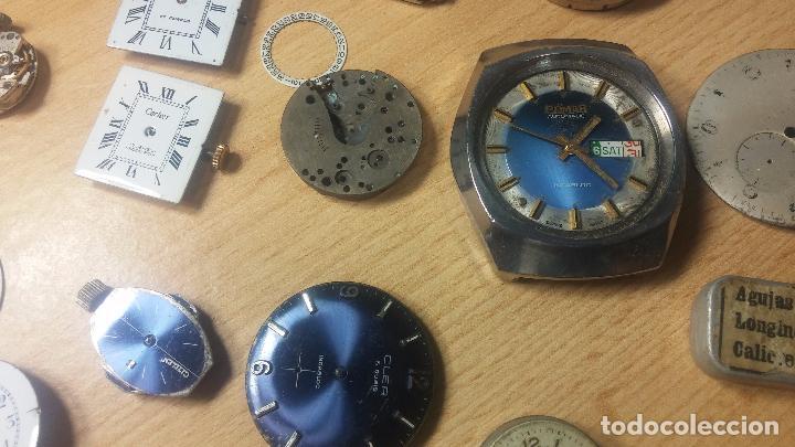 Relojes de pulsera: Gran colección de maquinas de reloj o relojes antiguos muy botitos, para reparar o para piezas... - Foto 88 - 103250643