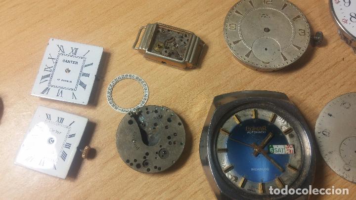 Relojes de pulsera: Gran colección de maquinas de reloj o relojes antiguos muy botitos, para reparar o para piezas... - Foto 89 - 103250643
