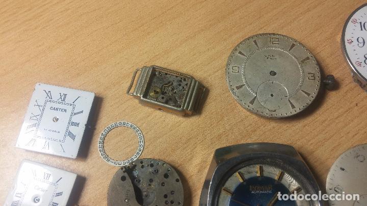 Relojes de pulsera: Gran colección de maquinas de reloj o relojes antiguos muy botitos, para reparar o para piezas... - Foto 90 - 103250643