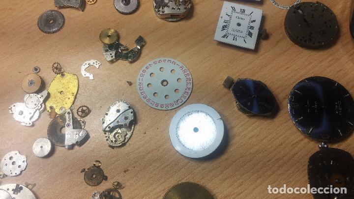 Relojes de pulsera: Gran colección de maquinas de reloj o relojes antiguos muy botitos, para reparar o para piezas... - Foto 91 - 103250643