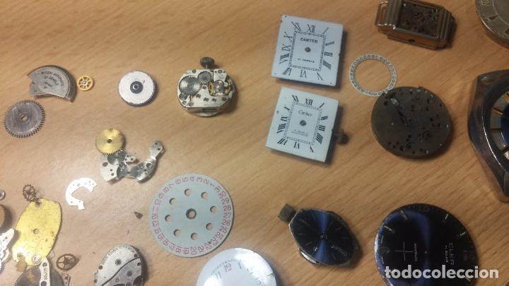 Relojes de pulsera: Gran colección de maquinas de reloj o relojes antiguos muy botitos, para reparar o para piezas... - Foto 92 - 103250643