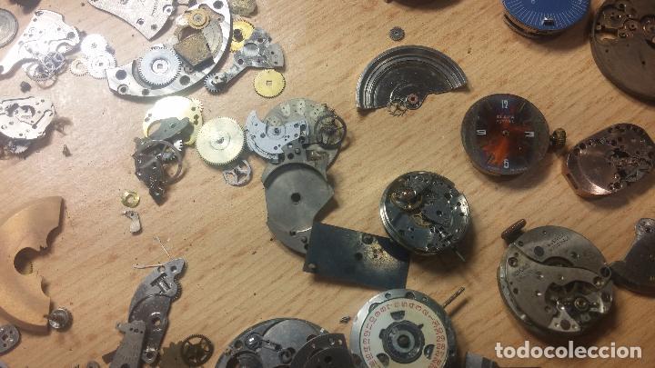 Relojes de pulsera: Gran colección de maquinas de reloj o relojes antiguos muy botitos, para reparar o para piezas... - Foto 97 - 103250643
