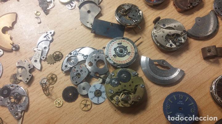 Relojes de pulsera: Gran colección de maquinas de reloj o relojes antiguos muy botitos, para reparar o para piezas... - Foto 98 - 103250643