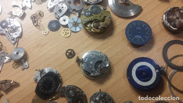 Relojes de pulsera: Gran colección de maquinas de reloj o relojes antiguos muy botitos, para reparar o para piezas... - Foto 99 - 103250643